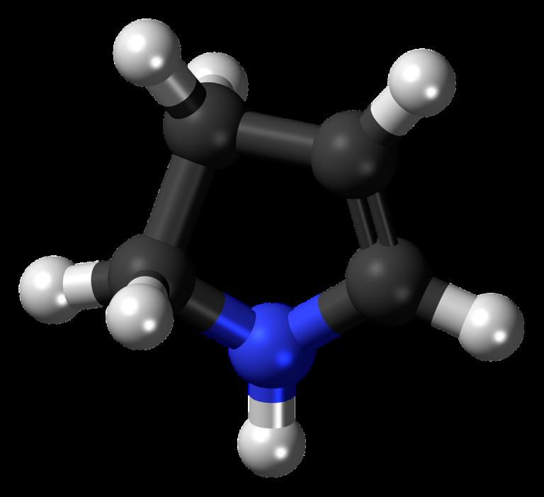 pyrroline, nitrogen, heterocycle-836139.jpg